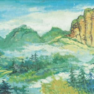 Tew Nai Tong, <em>Hokkien</em>, undated, 29cm x 70cm, Oil on canvas. Price for request