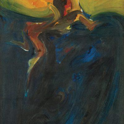 SYED AHMAD JAMAL, DATUK, <em>BERENANG</em>, 1965, Oil on canvas, 123cm x 77cm, estimate RM160,000 – 250,000