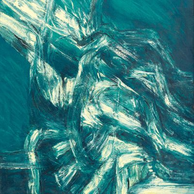 ABDUL LATIFF MOHIDIN, <em>SIRI GELOMBANG</em>, 1985, Oil on canvas, 80cm x 80cm, estimate RM250,000 – 350,000