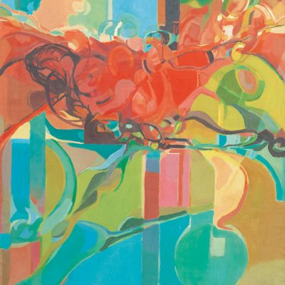 KHALIL IBRAHIM, <em>RECLINING NUDE</em>, 1965, Oil on canvas, 100.5cm x 75.5cm, estimate RM40,000 – 60,000