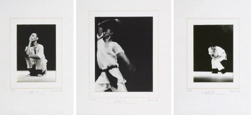 Chu Li - Lari 1992 [24cm x 16cm; 34cm x 26cm; 24cm x 16cm] Silver gelatin print on fiber-based paper