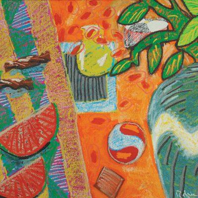 Rafiee Ghani - Sweet Melon 1998 [71cm x 89cm] oil on canvas
