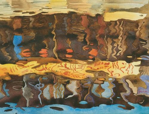 HOE SAY YONG, Festival 佳节, 2003, Watercolour on paper, 75cm x 55cm