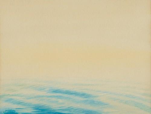 HOE SAY YONG, Wave, 1988 [75cm x 55cm] watercolour on paper