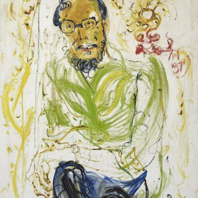 Affandi, <em>Portrait Of Tan Sri Kamarul Ariffin</em>, 1971, Oil on canvas, 130cm x 100cm