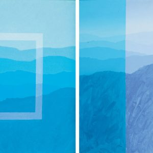 Khoo Sui Hoe, <em>Cameron Highlands Series</em>, undated, Diptych, 55cm x 55cm each, Oil on canvas. Price on request