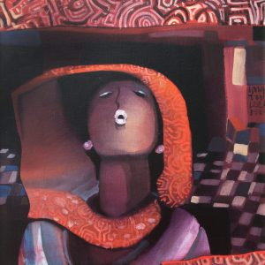 Lee Long Looi, <em>Untitled</em>, 1985, Oil on canvas, 60cm x 80cm. Price on request