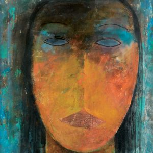 Khoo Sui Hoe, <em>Girl</em>, 1996, 60cm x 50cm, Oil on canvas. Sold