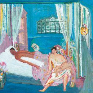 Arifien Neif, <em>Happy Family</em>, 2007, Acrylic on canvas, 80cm x 90cm. Sold