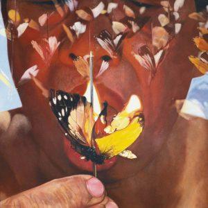 FX Harsono, <em>Taste of Pain (Tiktik Nyeri Series)</em>, 2008, Acrylic on canvas, 160cm x 160cm. Sold