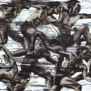 Ida Bagus Putu Purwa, <em>Jaranan</em>, 2014, Oil on canvas, 150cm x 200cm. Sold