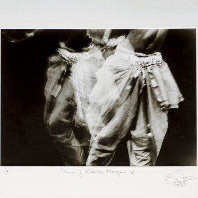 Eric Peris - Prana of Bharata Natjam 1996 [33cm x 45.5cm] silver gelatin print on fiber-based paper